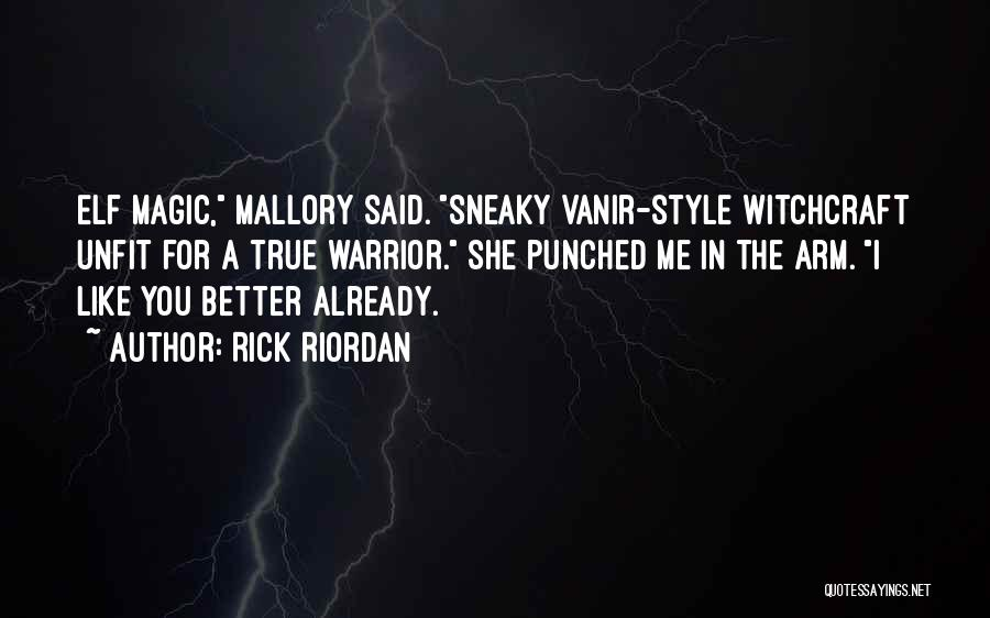 Sneaky Quotes By Rick Riordan