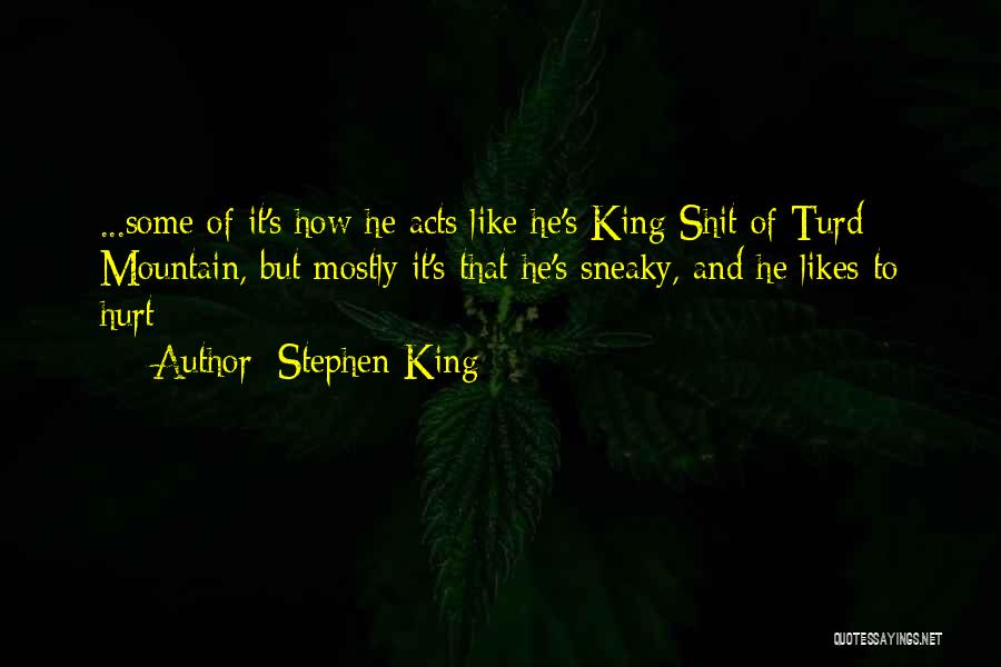Sneaky Quotes By Stephen King