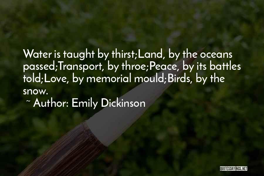 Snow Land Quotes By Emily Dickinson