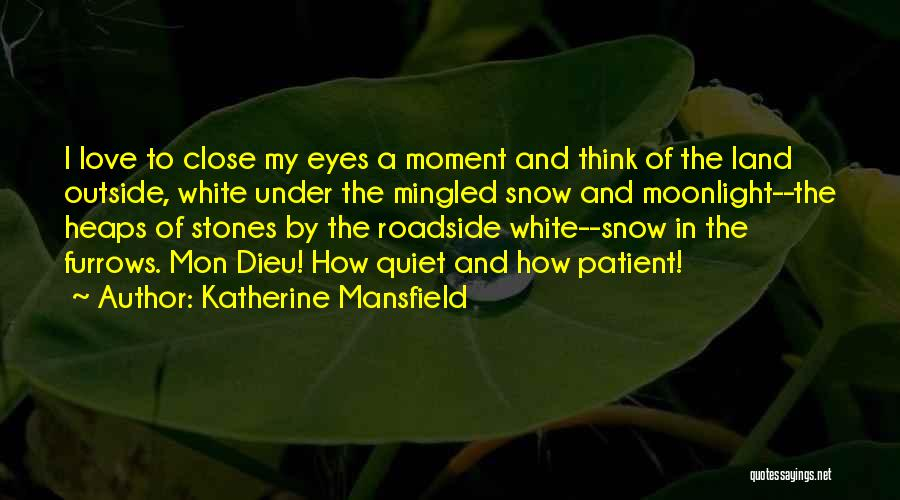 Snow Land Quotes By Katherine Mansfield