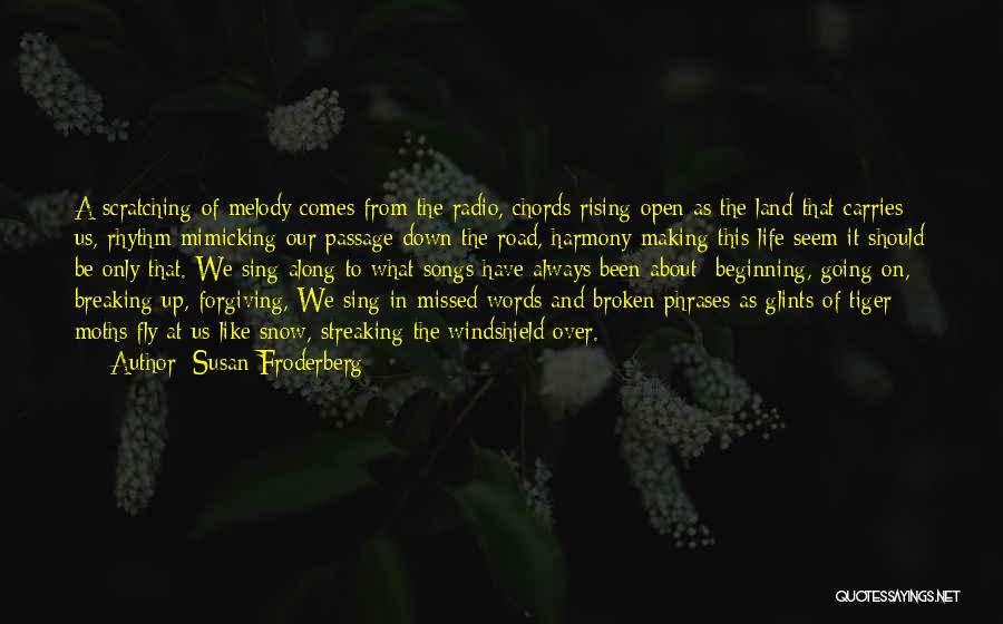 Snow Land Quotes By Susan Froderberg