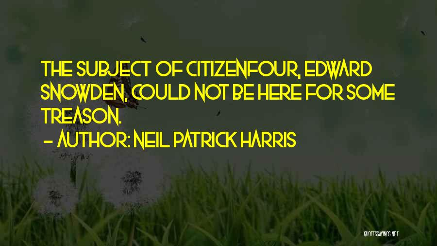 Snowden Quotes By Neil Patrick Harris