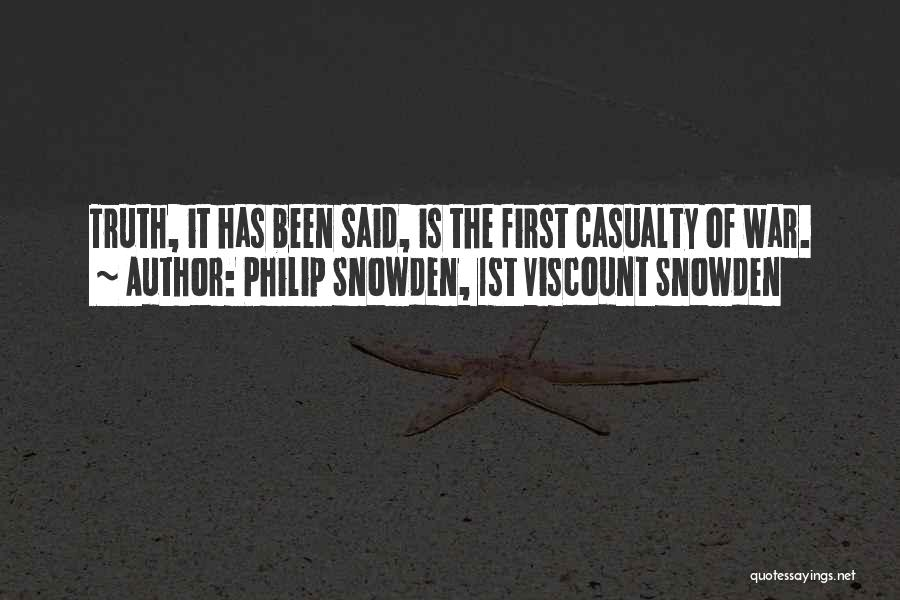 Snowden Quotes By Philip Snowden, 1st Viscount Snowden
