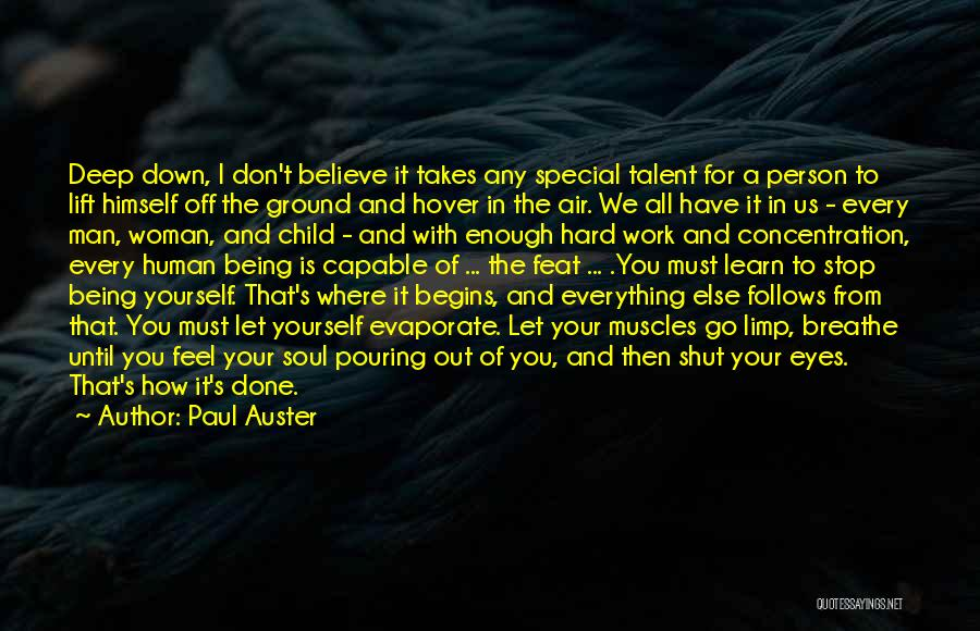 So Done With You Quotes By Paul Auster