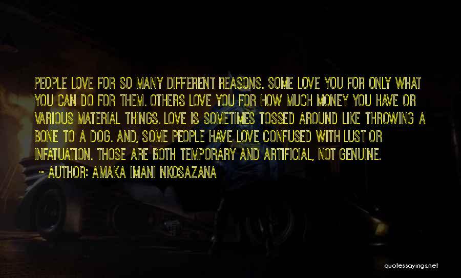 So Many Reasons Quotes By Amaka Imani Nkosazana