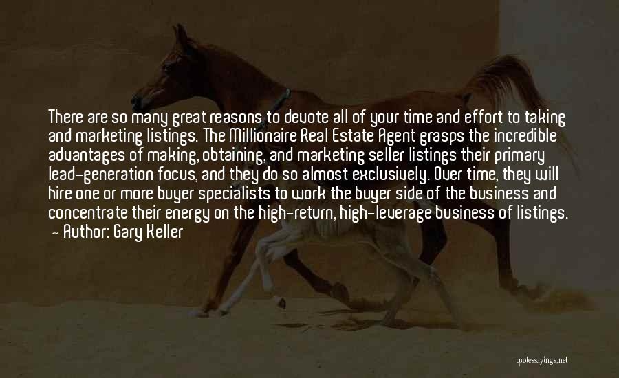 So Many Reasons Quotes By Gary Keller