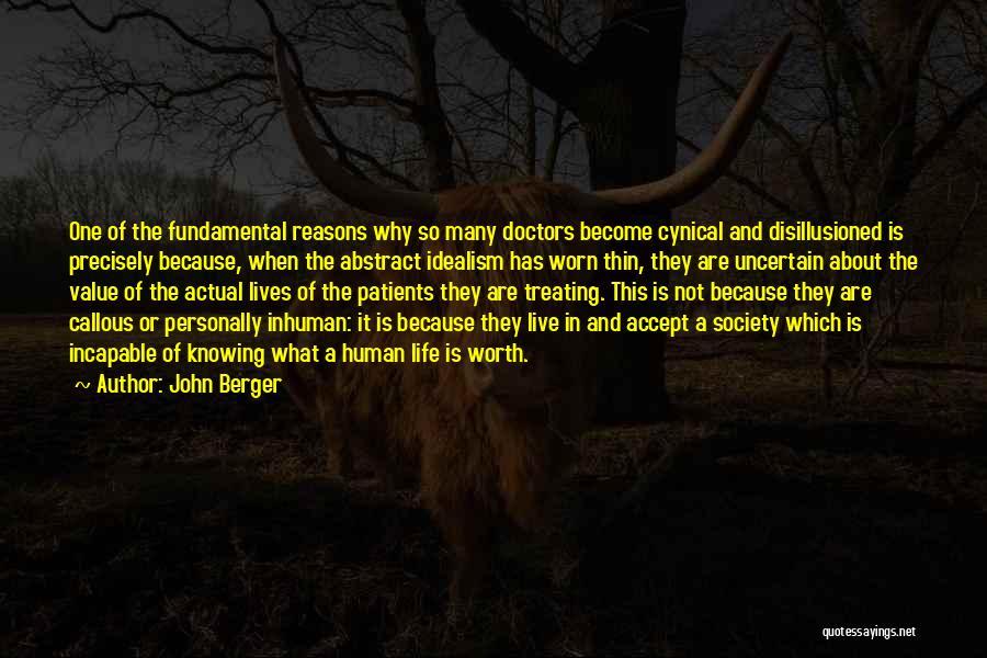 So Many Reasons Quotes By John Berger