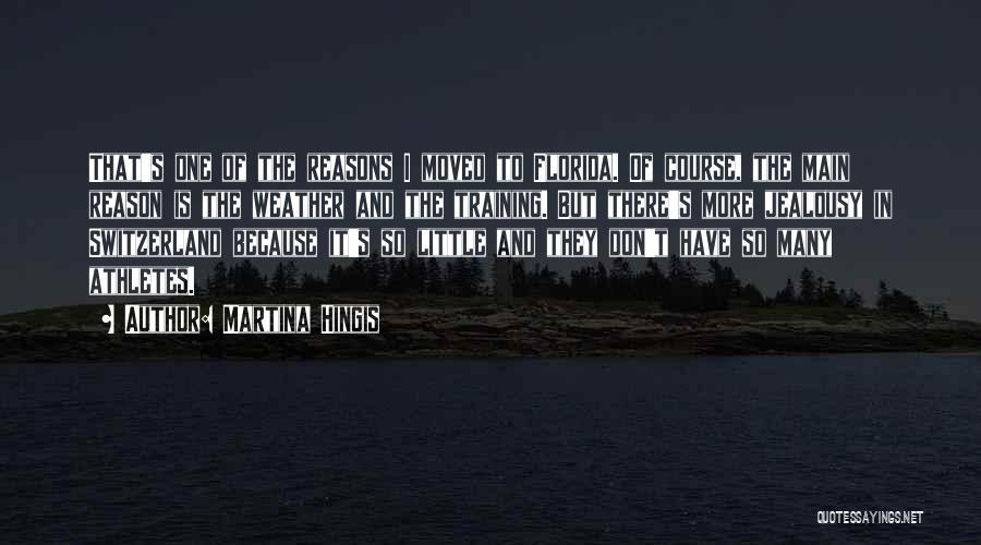 So Many Reasons Quotes By Martina Hingis