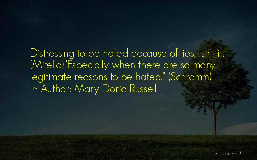 So Many Reasons Quotes By Mary Doria Russell