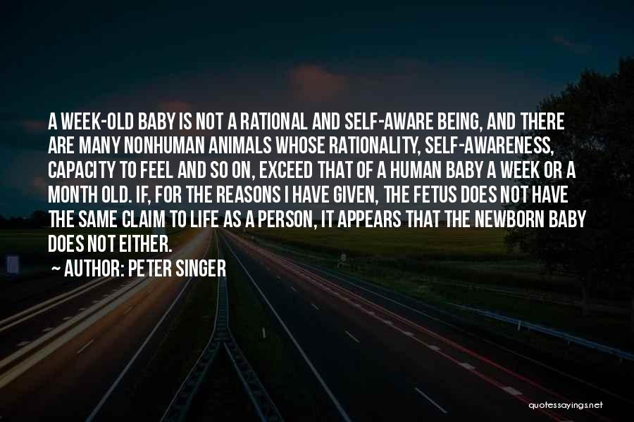 So Many Reasons Quotes By Peter Singer