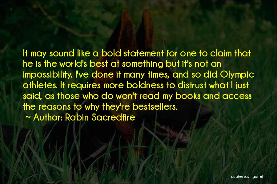 So Many Reasons Quotes By Robin Sacredfire