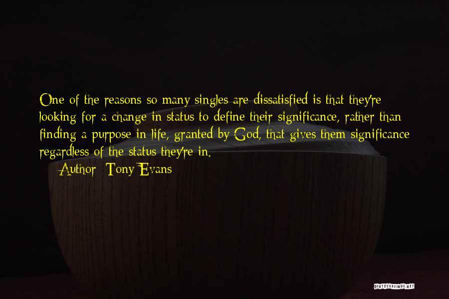 So Many Reasons Quotes By Tony Evans