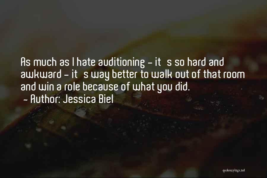 So Much Hate Quotes By Jessica Biel