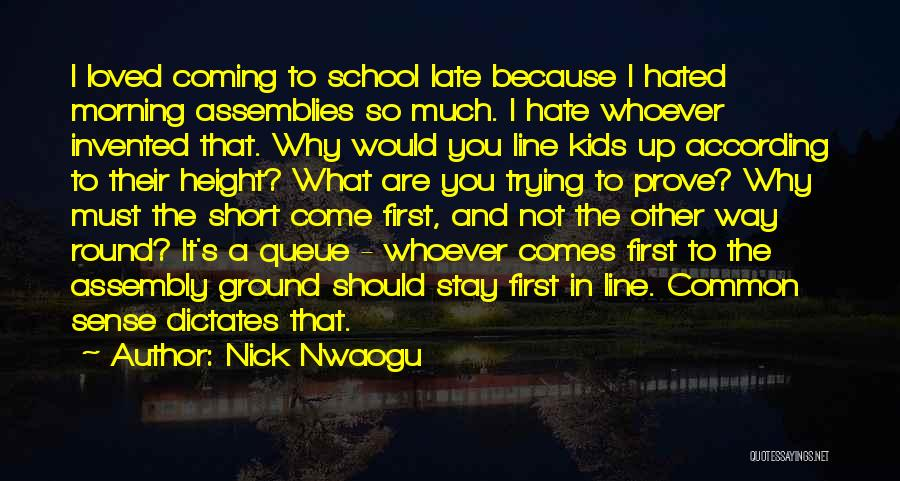 So Much Hate Quotes By Nick Nwaogu