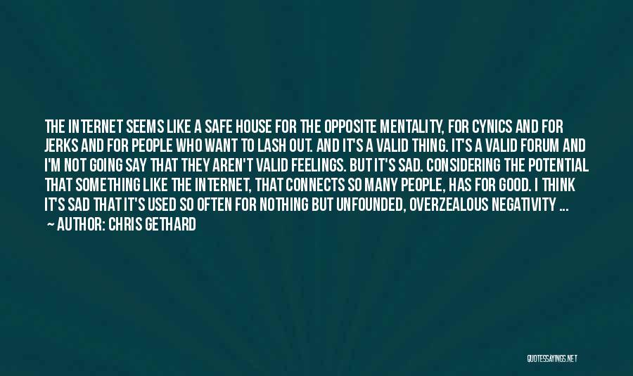 So So Sad Quotes By Chris Gethard