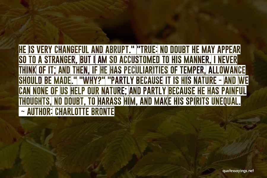 So Very True Quotes By Charlotte Bronte