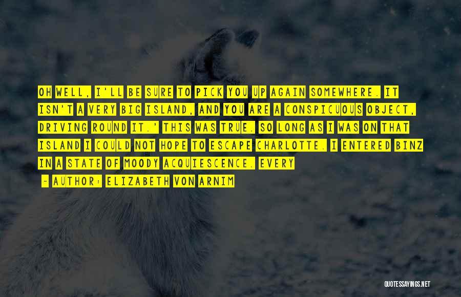 So Very True Quotes By Elizabeth Von Arnim