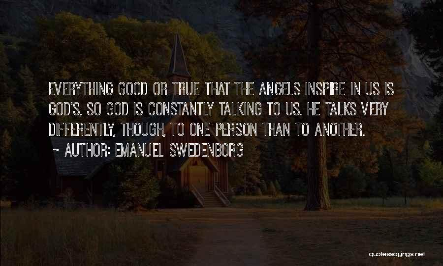 So Very True Quotes By Emanuel Swedenborg