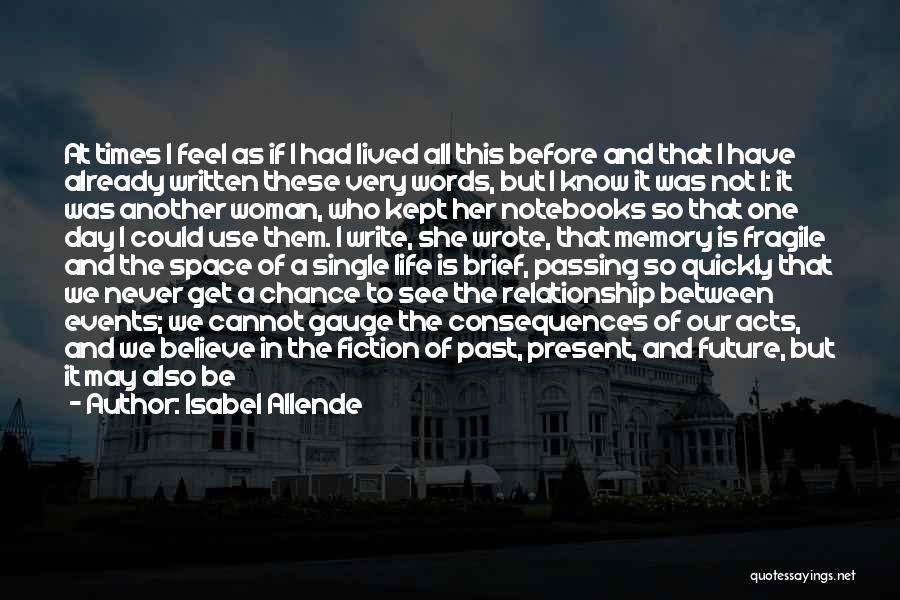 So Very True Quotes By Isabel Allende