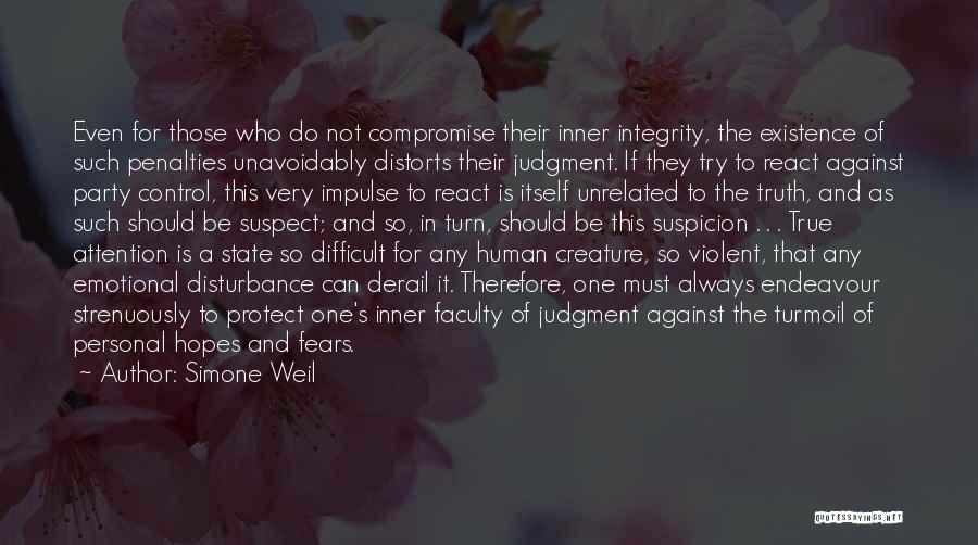 So Very True Quotes By Simone Weil