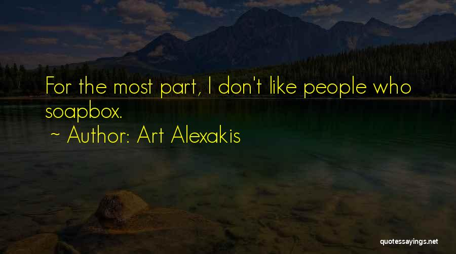 Soapbox Quotes By Art Alexakis