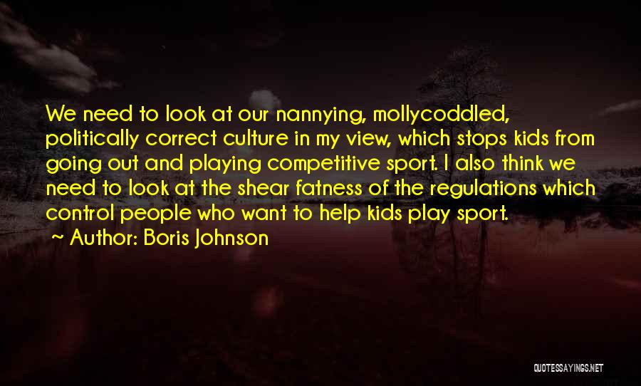 Soccer Competitive Quotes By Boris Johnson