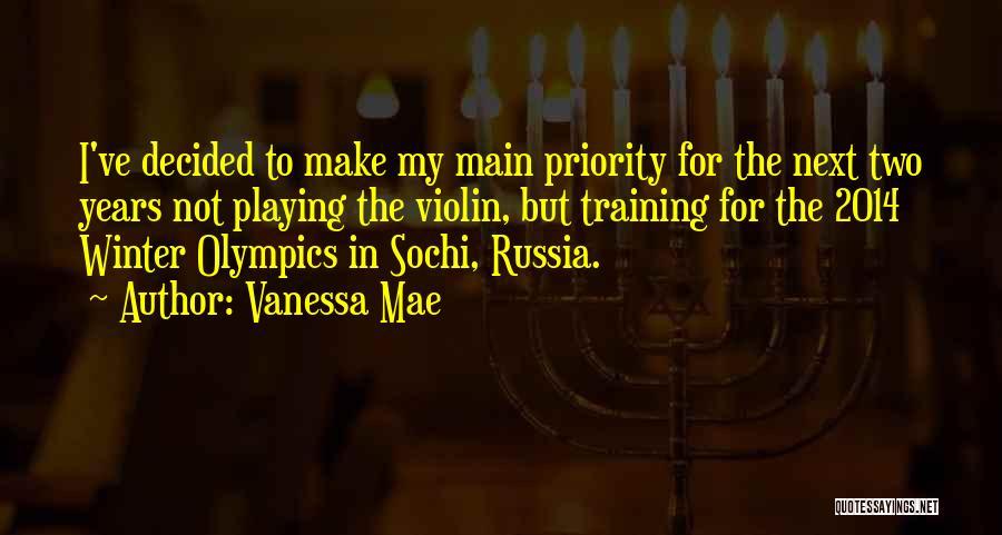 Sochi Olympics Quotes By Vanessa Mae