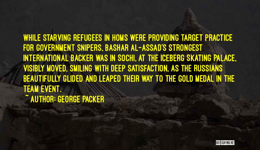 Sochi Quotes By George Packer