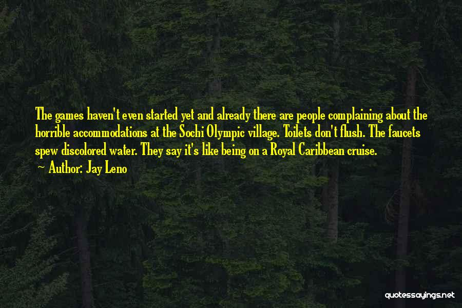 Sochi Quotes By Jay Leno