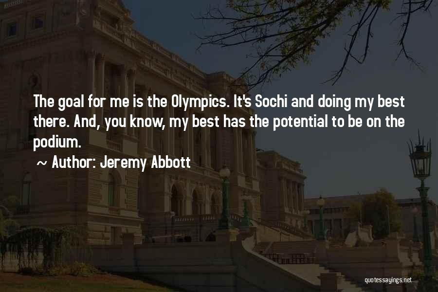 Sochi Quotes By Jeremy Abbott