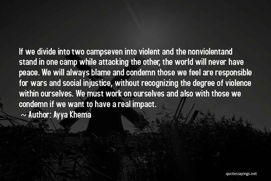 Social Divide Quotes By Ayya Khema