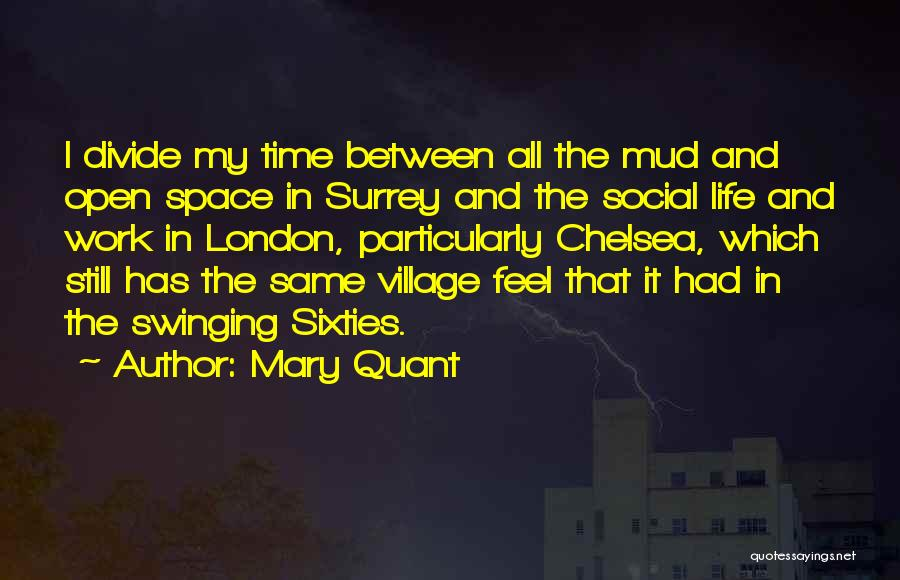 Social Divide Quotes By Mary Quant