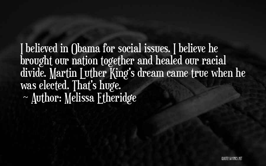 Social Divide Quotes By Melissa Etheridge