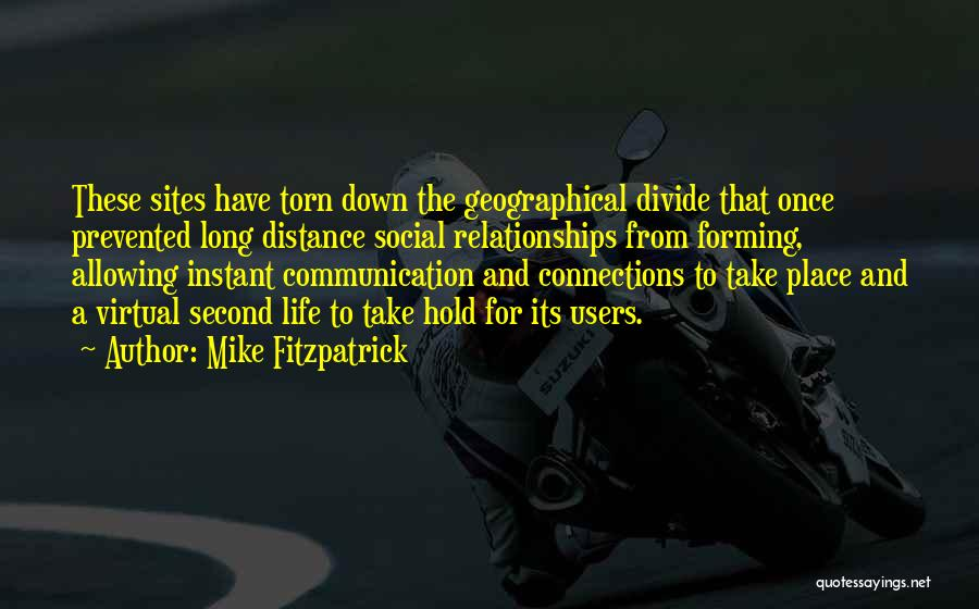 Social Divide Quotes By Mike Fitzpatrick