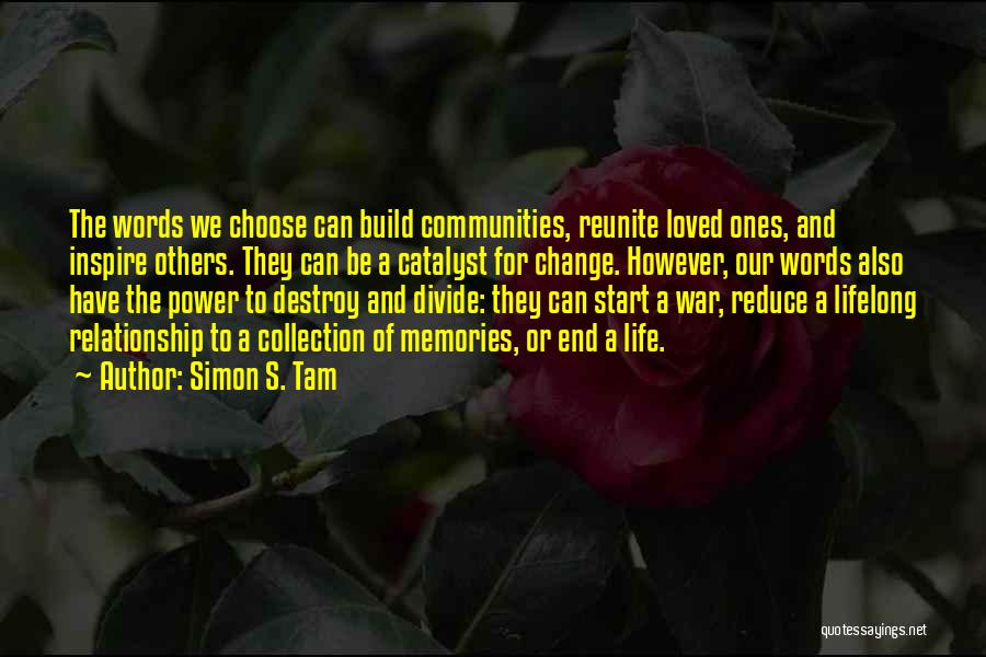Social Divide Quotes By Simon S. Tam