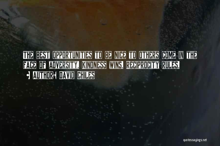 Social Etiquette Quotes By David Chiles