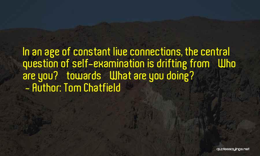 Social Etiquette Quotes By Tom Chatfield