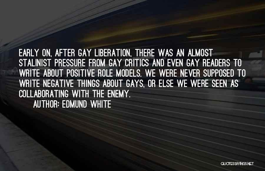 Socially Active Quotes By Edmund White
