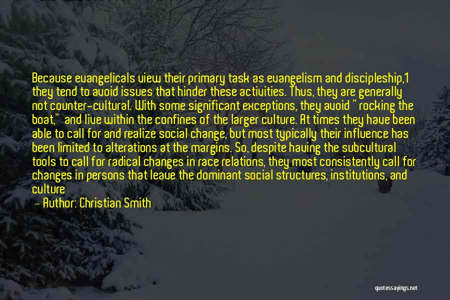 Society And Change Quotes By Christian Smith