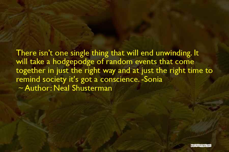 Society And Change Quotes By Neal Shusterman