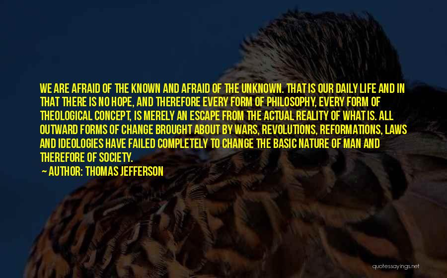 Society And Change Quotes By Thomas Jefferson