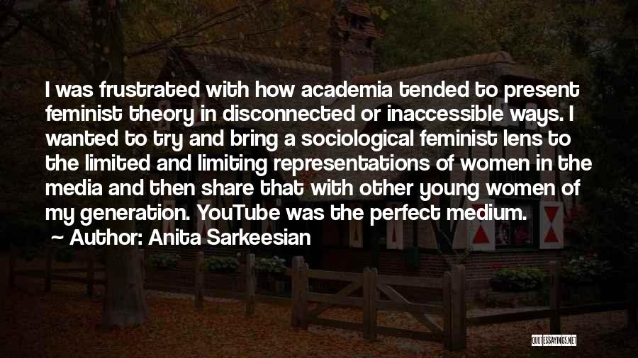 Sociological Theory Quotes By Anita Sarkeesian