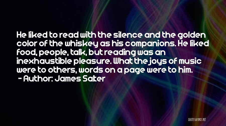 Solitude And Music Quotes By James Salter