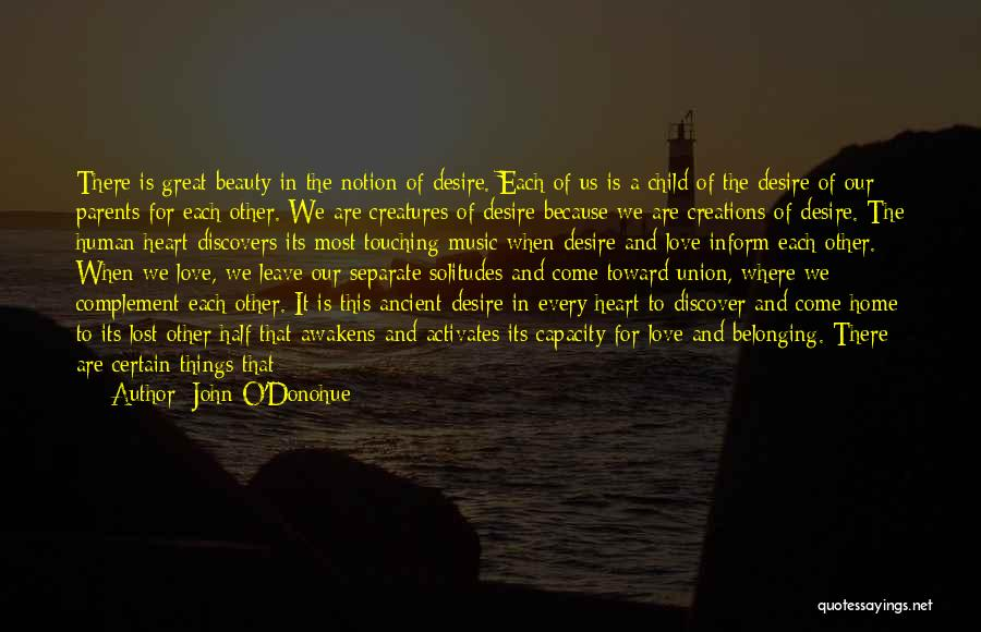 Solitude And Music Quotes By John O'Donohue