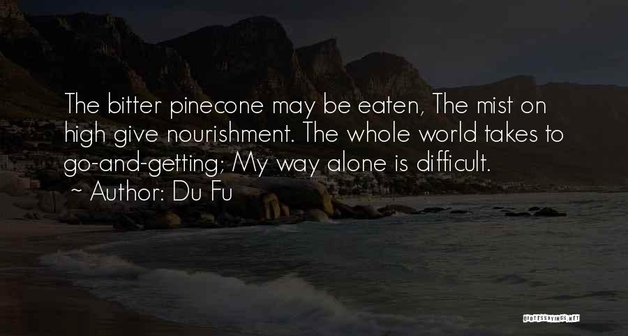 Solitude And Quotes By Du Fu