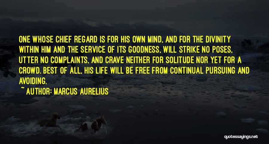 Solitude And Quotes By Marcus Aurelius