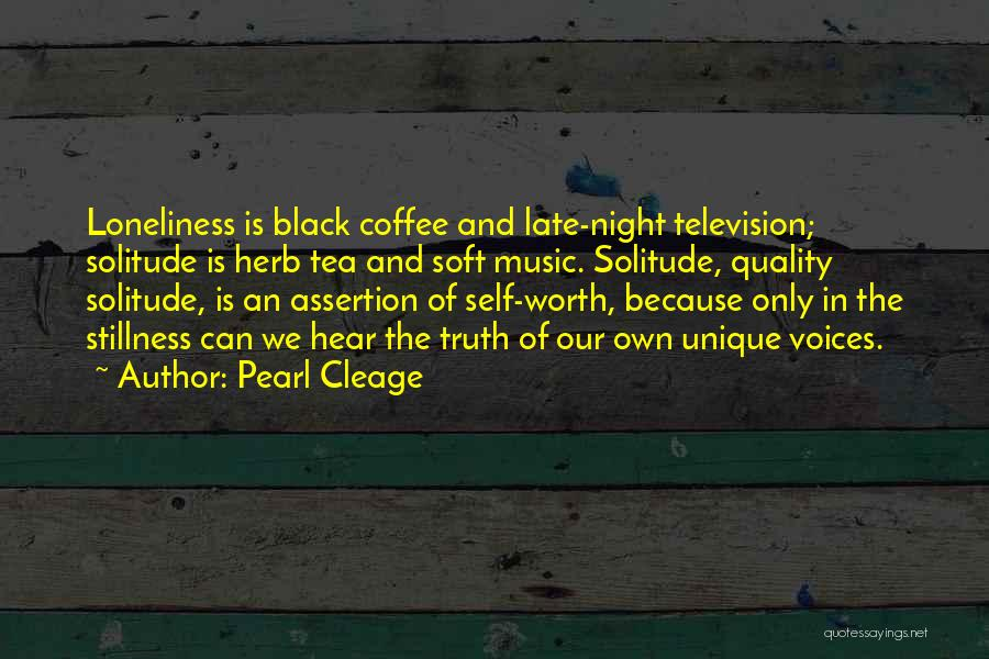 Solitude And Quotes By Pearl Cleage