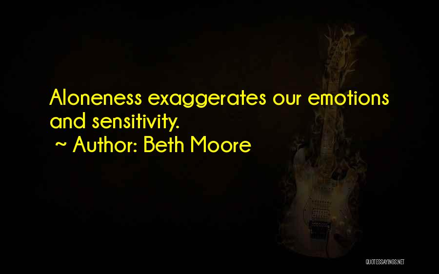 Solitude And Reflection Quotes By Beth Moore