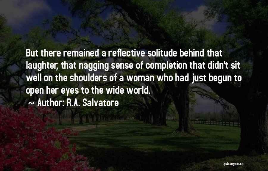 Solitude And Reflection Quotes By R.A. Salvatore