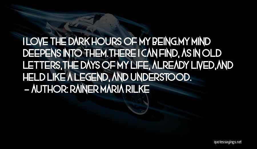 Solitude And Reflection Quotes By Rainer Maria Rilke